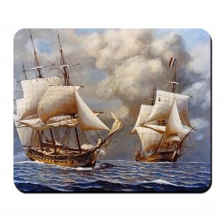 USS Constellation vs L'Insurgente Quasi War Coast Guard US Amerika Schiff #26968