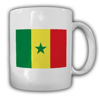 Republik Senegal Fahne Flagge Kaffee Becher Tasse #13890