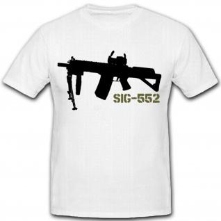 SIG 552 Sturmgewehr Stgw 90 Schweiz SG550 Waffe Schweizer Armee T Shirt #9594