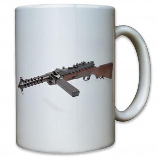MP34 Maschinenpistole Österreich MP Waffe Deutschland WK2 WWII - Tasse #10473