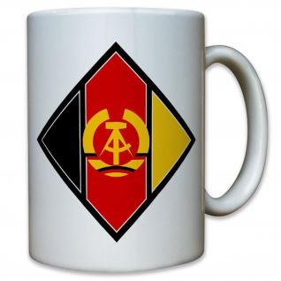 Nationale Volksarmee NVA DDR Ostdeutschland abzeichen Panzer - Tasse #9544