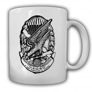 Spilla 183° Reggimento Nembo Paracadutisti Folgore Fallschirmjäger Tasse #15552