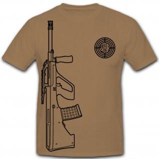 Steyr AUG Firma Hersteller Unternehmen Logo Österreich - T Shirt #9974