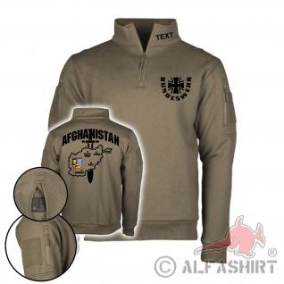 Tactical Sweatshirt 16 DEU EinsKtgt ISAF Namen Bundeswehr Einsatz #37348