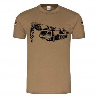 BW Tropen 100to ATF Kran Bundeswehr 100-5 110Tonnen Auslger Berge T-Shirt #24356