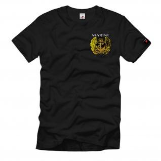 Marine Abzeichen Bundeswehr Bundesmarine Wappen Emblem Hemd T-Shirt#34229