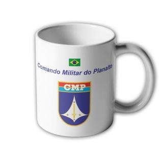 Comando Militar do Planalto CMP 11ª RM Brasilien Wappen MP Tasse #33396
