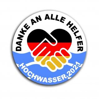 HW21 Spenden Aufkleber Hochwasser 2021 Flut Katastrophe Ahr Eifel NRW 9cm #A5725