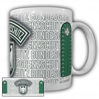 Tasse Grenzjäger BGS Bundesgrenzschutz Wappen Abzeichen Adler #23697