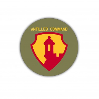 Aufkleber/Sticker Antilles Command US Army Air Force USA Amerika 7x7cm A1192