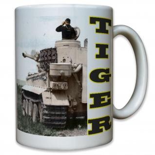 TIGER Panzer Kampfpanzerwagen Modelbauer main battle tank - Tasse #10420 T
