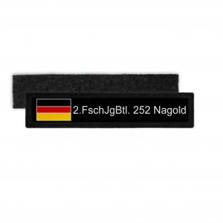 Namenspatch Deutschland Schwarz Name Patch Aufnäher #26136