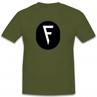 Feuerwerker Abzeichen NVA DDR Emblem Wappen - T Shirt #7907