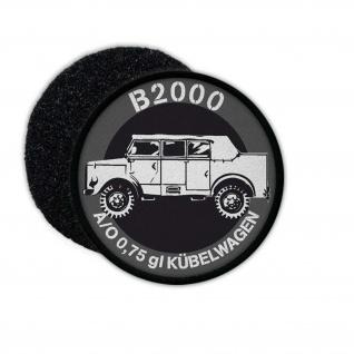 Patch B2000 Borgi Bundeswehr Kübelwagen BGS Zivilschutz LKW Geländewagen#24599