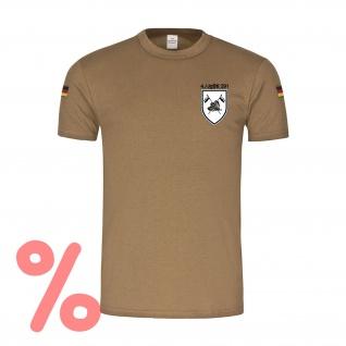 Gr. M - SALE Shirt Jäger Bataillon Bundeswehr Abzeichen Logo Kompanie #R1076