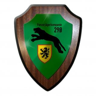 PzJgKp 290 Panzerjägerkompanie Einheit Militär Wappenschild #19820