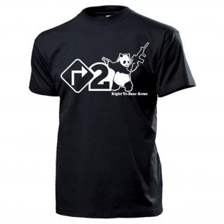 Right To Bear Arms Recht Waffen zu tragen US Army USA Amerika - T Shirt #15820
