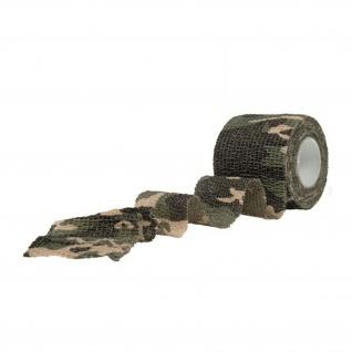 Tarnband Woodland Tarnung Waffe Gewehr Airsoft Tape Camouflage Klebeband #16377