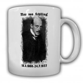 Max von Schillings deutscher Komponist Dirigent Kaffee Becher Tasse #13729