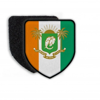 Patch Flag of Co´te d´Ivoire Flagge Land Staat Wappen Zeichen #21325