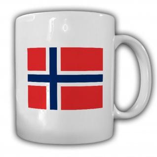 Königreich Norwegen Flagge Fahne Kaffee Becher #13838