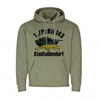 1 PzBtl 143 Stadtallendorf Panzer Bataillon Kompanie BW Einheit Hoodie #20147