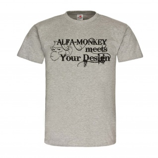 AlfaMonkey Style Alfashirt Fun Spaß Humor Shirt Syling Fashion T-Shirt #23929