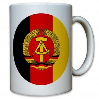 Nationale Volksarmee NVA DDR Ostdeutschland abzeichen Panzer - Tasse #9545