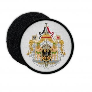 Patch Großes Wappen des Deutschen Kaisers Abzeichen Aufnäher #32927