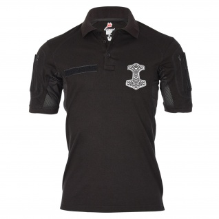 Tactical Poloshirt Alfa Thorshammer Vikings Donnergott Germanen #19368