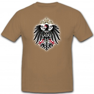 Preußischer Adler Preußen Deutschland Hoheitszeichen - T Shirt #8462