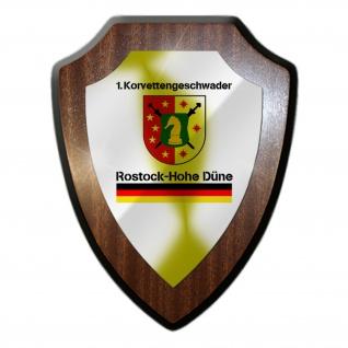1 KorvGschw Korvettengeschwader Bootsgeschwader Marine Wandschild #27295