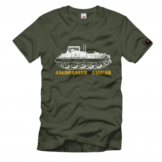 Jagdpanzer Jaguar Panzer Bundeswehr Bundesheer Panzerstahl T Shirt #748