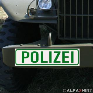 Magnetschild Polizei für KFZ Fahrzeuge Kübel Iltis Wolf etc #A167