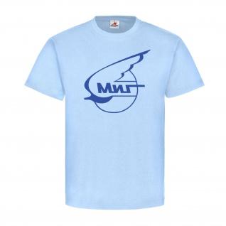 Mikojan-Gurewitsch Logo Flugzeug MiG Russland Jagdflugzeug T-Shirt #20679