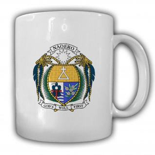 Republik Nauru Wappen Emblem Kaffee Becher Tasse #13820