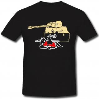 sPzAbt 505 Schwere Panzerabteilung WH WK Wappen Tiger Panzer- T Shirt #1286
