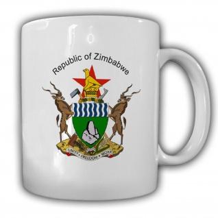 Republik Afrika Wappen Emblem Kaffee Becher Tasse #13899