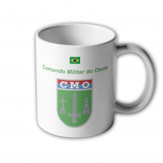 Comando Militar do Oeste Brasilien Abzeichen Armee CMO Campo Grande Tasse #33408