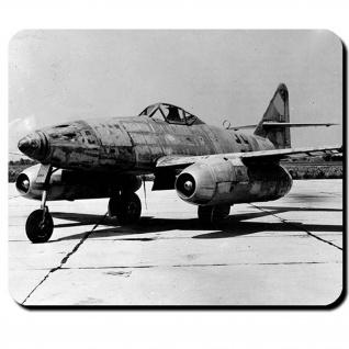 Me262 Luftwaffe Düsenjet Flugzeug Jäger Foto Bild Deutschland - Mauspad #9534