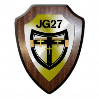 Stab Jg27 Jagdgeschwader Luftwaffe Einheit Handorf Wappenschild #19988