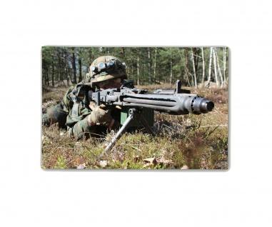 Poster M&N Pictures Hauptgefreiter MG3 Bundeswehr Maschinengewehr 30x20cm#30238