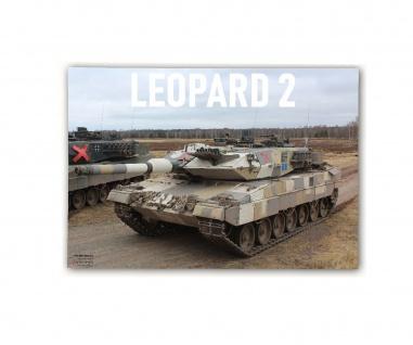 Poster M&N Pictures Bundeswehr Leo2 Urban Camo Leopard 2A5 ab30x21cm#30279