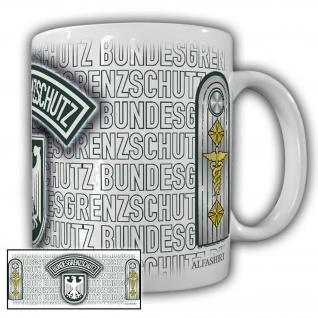 Tasse Regierungsoberinspektor BGS_Bundesgrenzschutz Wappen Abzeichen #23735
