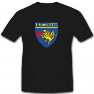 1. Staffel MFG 1 Marinefliegergeschwader 1 Bundeswehr BW Wappen - T Shirt #7456