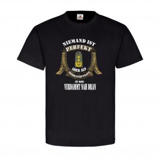 Niemand ist Perfekt Generalleutnant BW Dienstgrad Abzeichen T Shirt #20541
