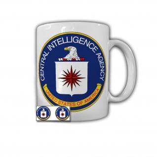 Tasse CIA Wappen Geheimdienst Amerika Abzeichen Emblem Central #27884