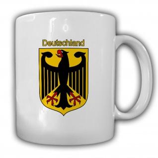 Deutschland Wappen Emblem Bundesrepublik - Tasse Becher #13460