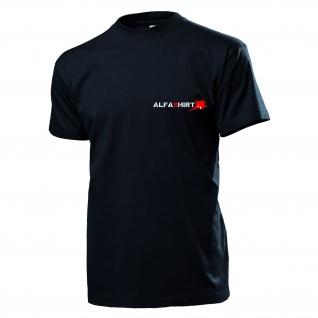 Alfashirt Logo Schwertfisch Sägefisch T-Shirt Shirt - T Shirt #999