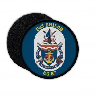 Patch USS SHILOH CG67 US navy ship USA Marine Abzeichen Amerika Besatzung #33967
